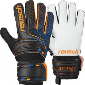 Children football goalkeeper gloves Reusch Attrakt SG