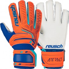 Children football goalkeeper gloves Reusch Attrakt SD Open Cuff
