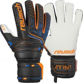 Football goalkeeper gloves Reusch Attrakt SG Finger Support