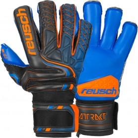 Football goalkeeper gloves Reusch Attrakt S1 Evolution Finger Support