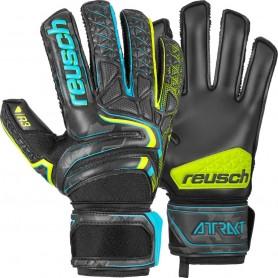Football goalkeeper gloves Reusch Attrakt R3