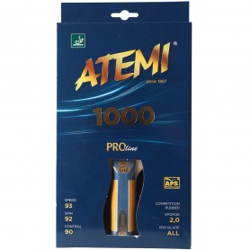 Table tennis racket New Atemi 1000 Pro concave