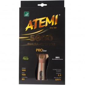 Table tennis racket New Atemi 5000 Pro anatomical