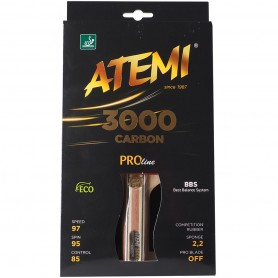 Table tennis racket ATEMI 3000 CARBON