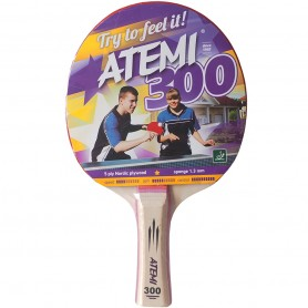 Table tennis racket New Atemi 300 concave