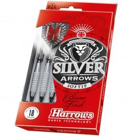 Šautriņu komplekts Softip Silver Arrow 14g