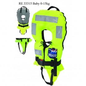 Bērnu glābšanas veste Besto Turn Safe 150N Baby(0-15kg)