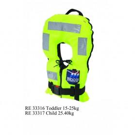 Bērnu glābšanas veste Besto Turn Safe 150N Toddler(15-25kg)