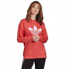 Women sports jacket Adidas Originals Trefoil Crew