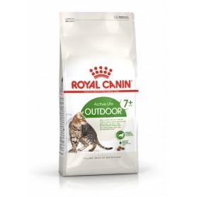 Dry Cat Food 2kg x 4 Outdoor 7+