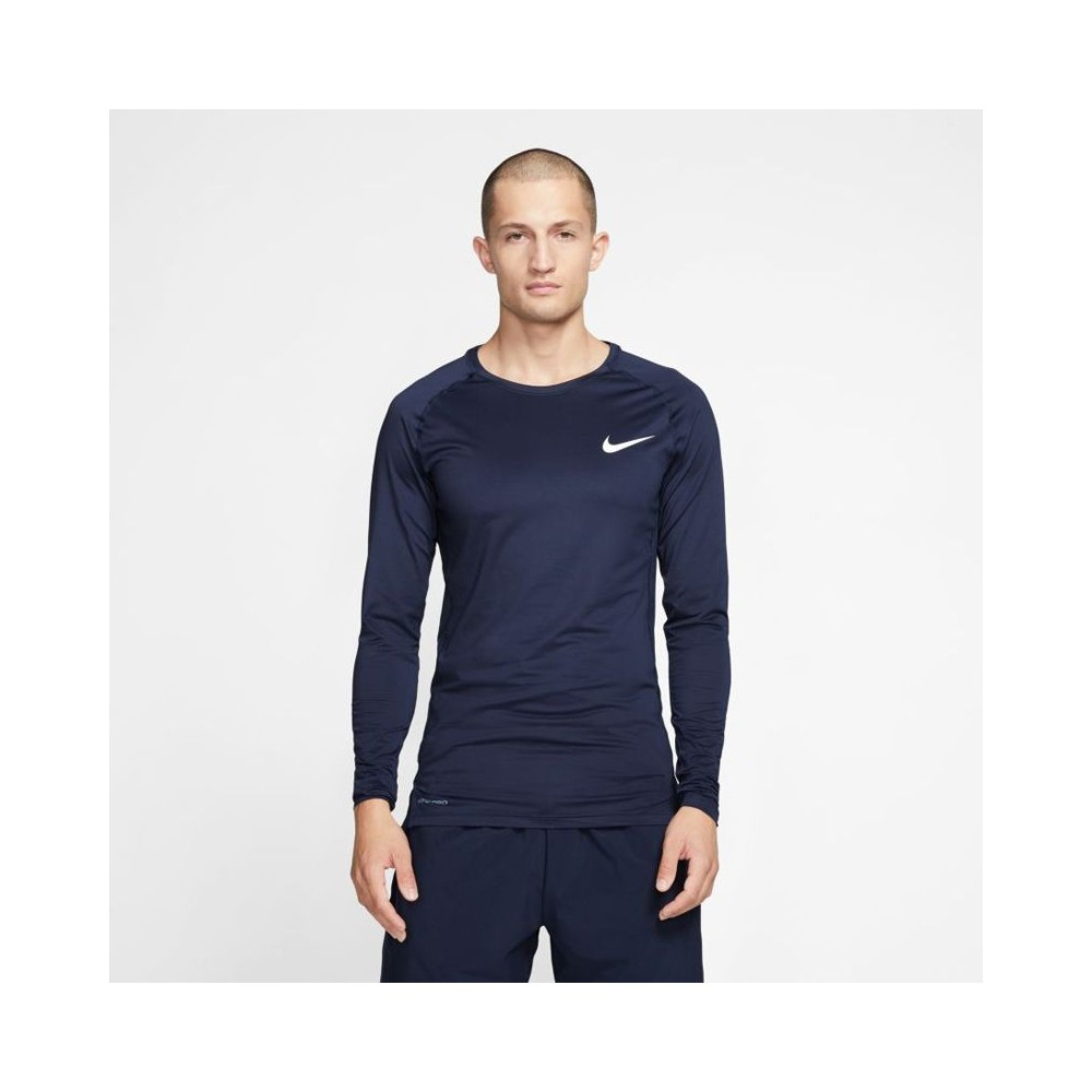 In qualsiasi momento Alexander Graham Bell nome  Men's long sleeve training top Nike Pro Top Compression Crew