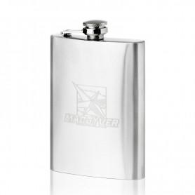 Macgyver steel hip flask 200 ML