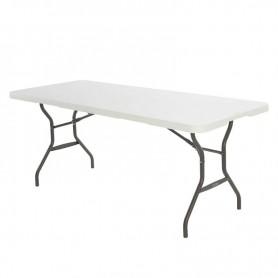 Semi-commercial folding table in half 183 cm