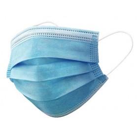 Einwegmasken, 3 Schichten mit elastischem Ohrring (50 Stück)