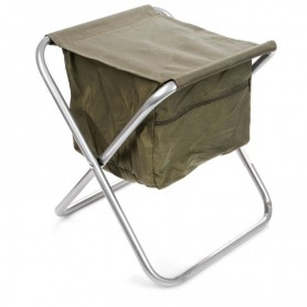 Stool with a bag