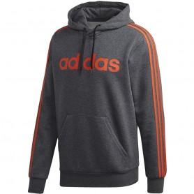 мужская толстовка Adidas Essentials 3 Stripes PO FL