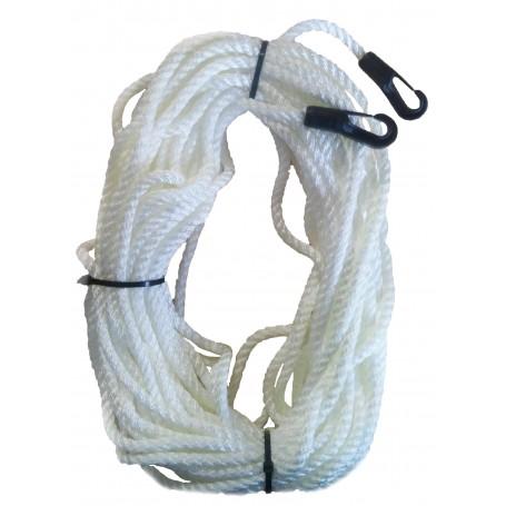 Peldošā glābšanas virve 8mm (līnis) 30m