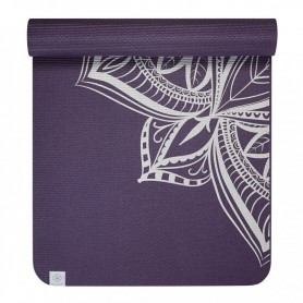 Yoga mat Gaiam Aubergine Medallion 6 mm