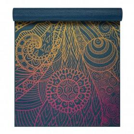 Yoga mat Vivid Zest 4 mm