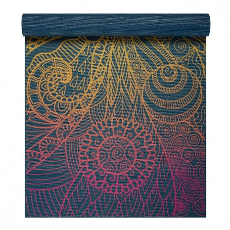 Yoga mat Vivid Zest 4 mm