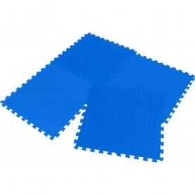Fitness protective rubber floor Eva 60x60x1,2cm 4 pcs