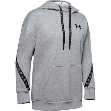 Women sports jacket Under Armor Fleece Hoodie Taped