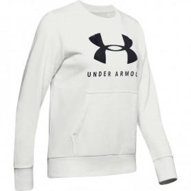 Women sports jacket Under Armor 12.1 Rival Fleece Graphic Crew