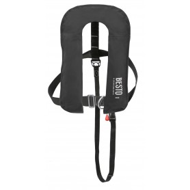 BESTO Inflatable 300N lifejacket Black