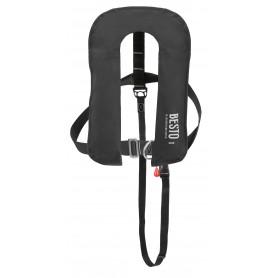 BESTO Inflatable 300N lifejacket Schwarz
