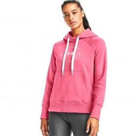Sieviešu sporta jaka Under Armour Rival Fleece Metallic Hoodie