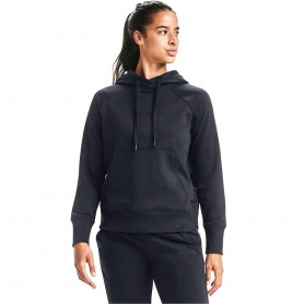 Women sports jacket Under Armour Rival Fleece Metallic Hoodie