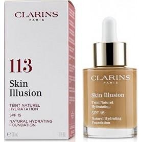 Clarins Skin Illusion Natural Hydrating Foundation Spf 15 113 Chestnut 30мл