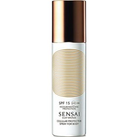 Kanebo SENSAI SILKY BRONZE CELLULAR PROTECTIVE SPRAY FOR BODY SPF 15 150ml