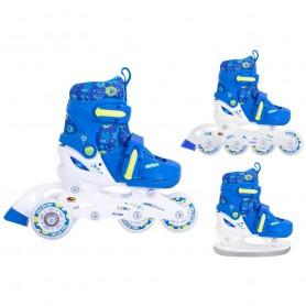 Skates for Kids Smj 3in1 Monster BS-901P