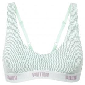 Women's sports bra Puma Metal Stripe Brallet 1P Hang