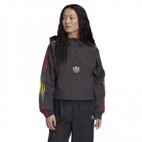 Women sports jacket Adidas Originals Adicolor Half-Zip Crop Top