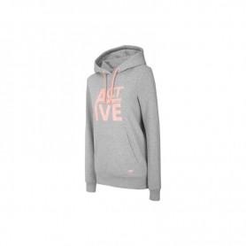 Women sports jacket 4F H4Z20-BLD013 Gray