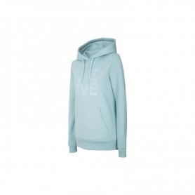 Women sports jacket 4F H4Z20-BLD013 Turquoise blue