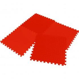 Fitnesa gumijas aizsargsegums grīdai Enero Eva 60x60x1,2 cm 4 gab