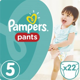 Pampers Pants ( Suurus 5 ) Junior 22 tk