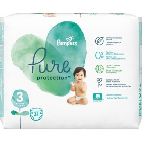 Pampers Pure Protection ( Izmērs 3 ) 31 gab