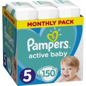 Pampers Monthly Box ( Izmēri 5 ) 150 gab