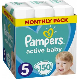 Pampers Monthly Box ( Suurus 5 ) 150 tk