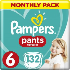 Pampers ABD MSB ( Размер 6 ) 132 шт