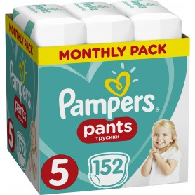 Pampers ( Размер 5 ) 152 шт