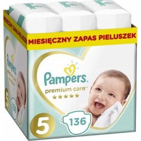 Pampers Premium Monthly Box ( Suurus 5 ) 11-16kg 136 tk