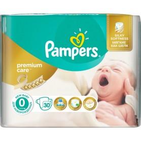 Pampers Premium Care ( Izmērs 0 ) Newborn, 2,5 kg, 30 gab