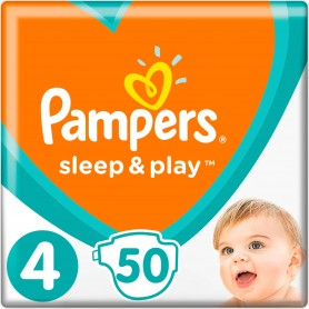 Pampers Sleep&Play ( Suurus 4 ) Vp Maxi 50 tk