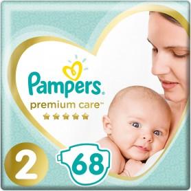 Pampers Premium Care VP ( Izmērs 2) 4-8 kg 68 gab