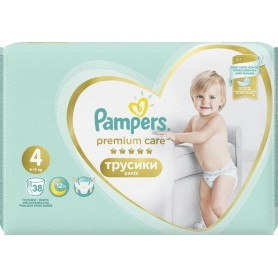 Pampers Premium Value Pack ( Suurus 4 ) 38 tk